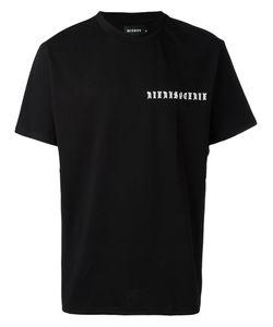 MISBHV | Logo Chest Print T-Shirt Adult Unisex Xl Cotton