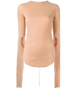Helmut Lang | Ribbed Jumper Small Cotton
