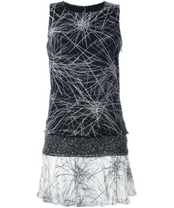 Diane Von Furstenberg | Abstract Print Flared Dress Xs