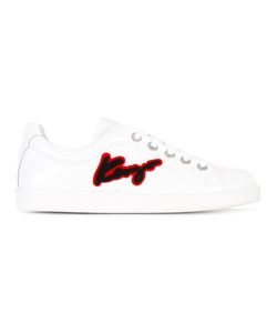 Kenzo | Signature Sneakers 40 Calf Leather/Leather/Rubber