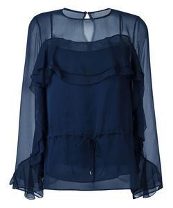 See By Chloe | See By Chloé Ruffle Blouse 38 Viscose/Polyester