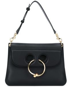 J.W. Anderson | J.W.Anderson Piercing Detail Shoulder Bag Calf Leather