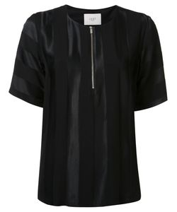Just Female | Zip Detail Blouse Medium Cotton/Viscose