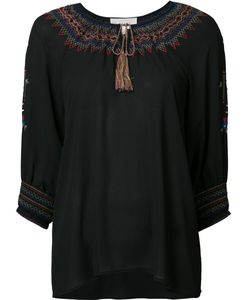 THE GREAT | Embroidered Collar Blouse 1 Polyester