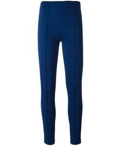 Twin-set | Ribbed Detailing Leggings 44 Viscose/Polyester/Spandex/Elastane