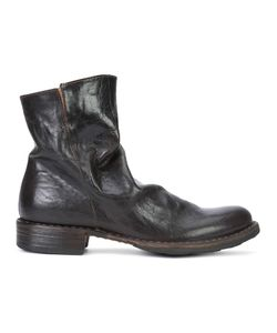 Fiorentini+Baker | Fiorentini Baker Zipped Ankle Boots 38 Leather/Rubber