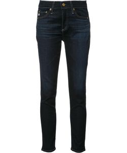 AG JEANS | Skinny Cropped Jeans 32 Cotton/Lyocell/Polyurethane