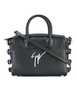 Giuseppe Zanotti Design   Buckled Straps Tote Leather