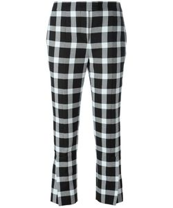 Christopher Kane | Checked Trousers 38 Virgin Wool/Polyester/Nylon/Viscose