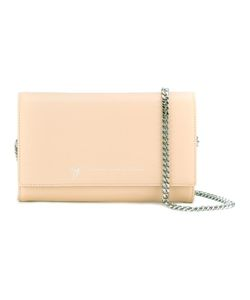 Giuseppe Zanotti Design | Chain Strap Clutch Leather/Metal Other