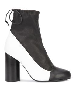VALAS | Cylinder-Heel Boots 7 Leather