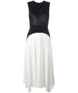 DKNY | Two-Tone Sleeveless Dress Medium Viscose/Nylon