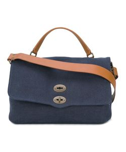 ZANELLATO | Postina Medium Tote Canvas/Leather