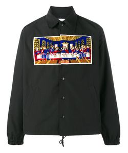 FACETASM | Last Supper Shirt Jacket 3 Cotton/Polyester/Acrylic