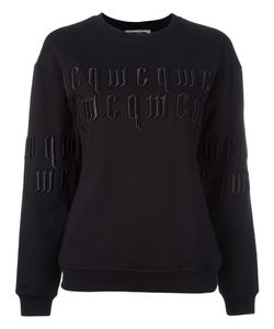 Mcq Alexander Mcqueen | Logo Embroidered Sweatshirt Xs Cotton