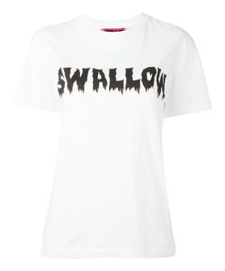 Mcq Alexander Mcqueen | Swallow Print T-Shirt Large Cotton