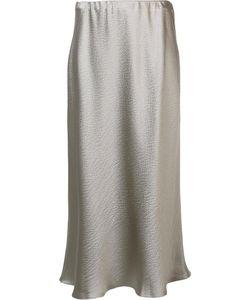 PETER COHEN | A-Line Skirt Small Acetate/Silk