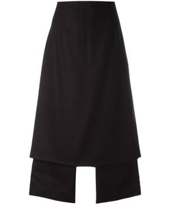 AALTO | Central Slit Skirt 42 Virgin Wool/Polyamide/Viscose