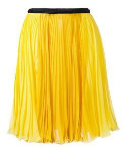 Giambattista Valli   Pleated Skirt 40 Silk
