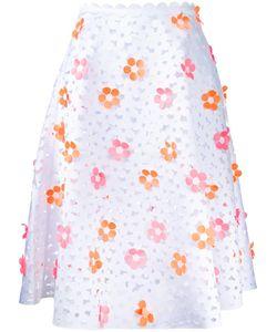 PASKAL | Flowers Detail Skirt Medium Polyester