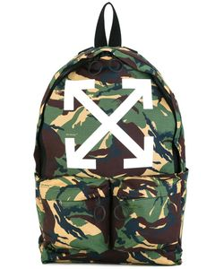 OFF-WHITE | Camouflage Print Backapck Cotton/Polyester