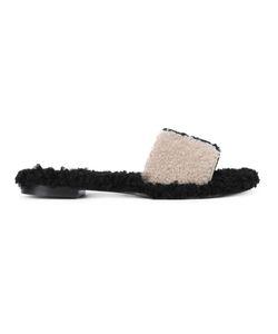Avec Modération | Kitzbuhel Sandals 41 Leather/Rubber/Sheep Skin/Shearling
