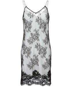 Alyx | Lace Overlay Slip Dress Medium Cotton/Polyamide/Spandex/Elastane/Silk