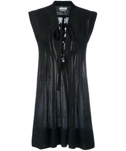 Isabel Marant Étoile | Pleated Tie-Neck Mini Dress 38