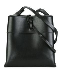 KARA | Strap Closure Crossbody Bag Leather