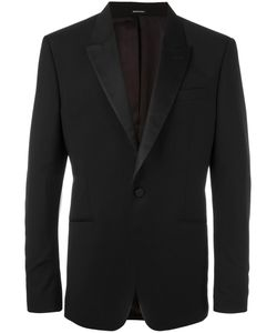 Alexander McQueen | One Button Blazer 54 Wool/Mohair/Silk/Viscose