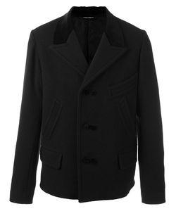 Dolce & Gabbana | Single Breasted Coat 46 Wool/Cotton/Viscose/Cupro