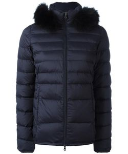 Duvetica | Fur Trim Puffer Jacket 38 Polyamide/Polyurethane/Spandex/Elastane/Feather Down