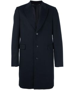Paul Smith | Flap Pockets Buttoned Coat 40 Cupro/Wool/Cashmere