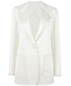 Helmut Lang | Patch Pocket Blazer 6 Viscose/Wool/Silk/Cotton