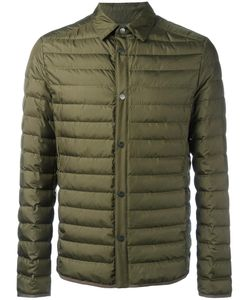 Salvatore Ferragamo | Buttoned Down Jacket 50 Silk/Polyamide/Feather/Goose Down