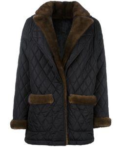 Simonetta Ravizza | Quilted Mid Jacket 42 Mink Fur/Rabbit