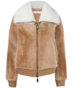 Drome | Zipped Leather Jacket Small Lamb Fur/Acetate/Viscose/Lamb Skin
