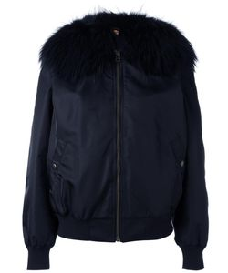 MR & MRS Italy | Fur Collar Bomber Jacket Small