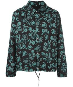 Ami Alexandre Mattiussi | Plants Print Hooded Jacket Large