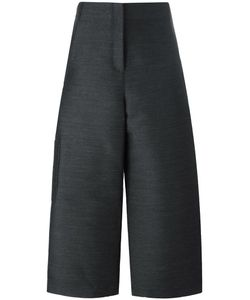 Ter Et Bantine | Cropped Wide-Leg Trousers 42 Polyester/Wool/Cotton