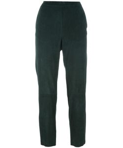 Drome | Elasticated Waistband Cropped Trousers Xl Lamb Nubuck