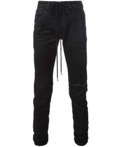OFF-WHITE | Coated Denim Jeans 29 Cotton/Polyester/Spandex/Elastane