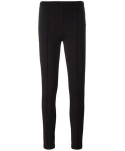 Twin-set | Ribbed Detailing Leggings 46 Viscose/Polyester/Spandex/Elastane