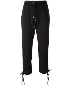 Moschino | Drawstring Track Pants 42 Cotton/Other Fibers