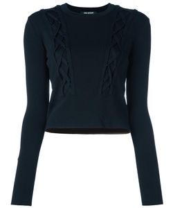 Neil Barrett | Cable Knitted Jumper Small Nylon/Viscose/Rayon
