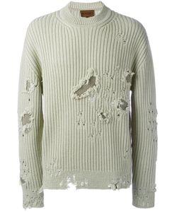 YEEZY | Season 3 Distressed Jumper Adult Unisex Xs Wool/Cotton