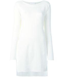 DKNY | Long Ribbed Jumper Medium Cotton/Spandex/Elastane