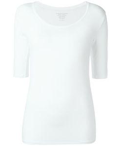 MAJESTIC FILATURES | Scoop Neck T-Shirt 1 Elastodiene/Viscose