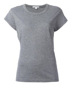 James Perse | Round Neck T-Shirt 3 Cotton/Polyester/Linen/Flax