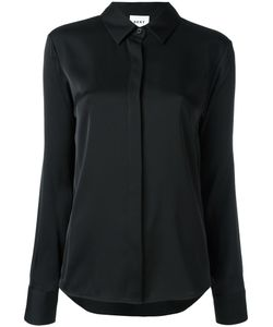 DKNY | Satin Shirt Xs Silk/Spandex/Elastane